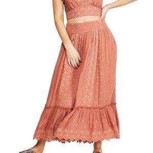 Free People Ella Rose Petal Skirt. S